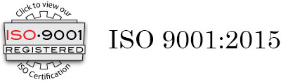 View our ISO 9001 Certificate